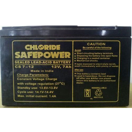 Ups Exide Chloride Safe Power Cs 7ah 12v
